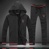 sweat suit - design mens fashion hoodies sweat suits Brand cotton Sportswear With pants tracksuits sport suits Colors