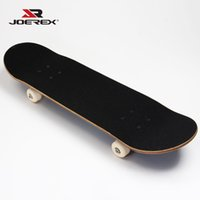 Wholesale Joerex quot China Maple Skateboard Deck Long board Four Skateboard Wheels Shape Skate for Board Fans
