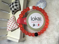 jelly bracelets - Red Lokai Bracelet Colors DHL Shipping with Original Tag Mud from Dead Sea Snow from Mount Everest