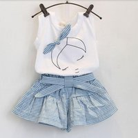 Cheap girl clothing Sets Best shortsleeve T-shirt