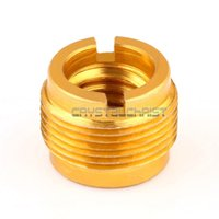 Wholesale 3 quot to quot Thread Convert Screw Adapter For Mic Audio Stand Head Mount Golden