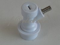 beer keg fittings - Keg Ball Lock Quick Disconnect Gas Valve with quot Barb fitting for Beer or Soda Homebrewing