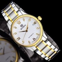 Wholesale Know when a genuine business on behalf of the automatic mechanical watch stainless steel explosion calendar Mens Watch