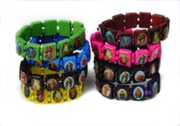 best rosaries - Fashion Wooden Jesus Bracelet Wooden Saints Rosary Religious for best friend