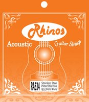 Wholesale Rhinos Acoustic Guitar String RA534SL Super Light Tension