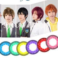 Wholesale 1pair Cosplay Free colors mixed DHL years experiences color contact lenses