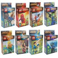 Wholesale League Legends series blocks villain toy Superheroes Assembling building blocks Children villain Aberdeen Educational Toys