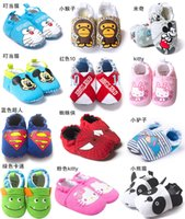 Wholesale Foreign trade in the spring and autumn baby shoes newborn baby shoes toddler shoes out and year old