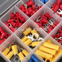 Wholesale High Quality Copper PVC Tinplate Assorted Crimp Terminal Set Insulated Electrical Wiring Connector Kit