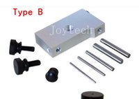 Wholesale New invention ecig atomizer coil jig heating coiler machine acrylic stainless steel coil jigs DIY heating wire wick machine thread