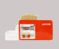 Wholesale Aboom Small Oil Presses Diy Kitchen Appliances to Make Healthy Oil for Kinds of Edible Oil Plants with High Oil Exact and Easy Operation