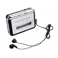 Wholesale New Portable Tape to PC USB Cassette to MP3 Converter Capture Audio Music Player in Stock