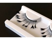 artistic hands - pair pack Hand made artistic feather artificial false eyelashes
