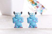 bathroom companies - Resin cartoon monster power company Cabochons Flatbacks diy Crafts Deco Embellishment DIY