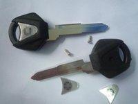 transponder key blank - New Motorcycle key shell transponder key blank for Ya with left blade black color