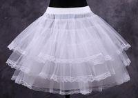 accessories short skirts - Cheap White Short Ball Gown Petticoat Dresses Underskirts Crinoline Bridal Accessories Prom Petticoats Fancy Women Skirt