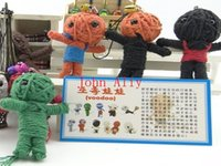 Wholesale Toys Voodoo Doll cell phone key chain a variety of styles colors Voodoo straps Doll