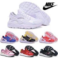 Wholesale 2015 New Nike Air Huarache Mens Womens Running Shoes Original Quality Nike Air Huaraches Cheap Triple Shoes Sport Shoes