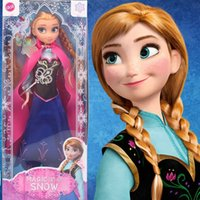 Wholesale Frozen Dolls cm inch Elsa Anna Toy doll Action Figures Plush Toy for christmas gift