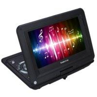 al por mayor juego definición-Koolertron 10.2 '' Multifunción portátiles reproductor de DVD portátil TV puerto USB, juego de tarjeta SD y pantalla giratoria de LED de alta definición