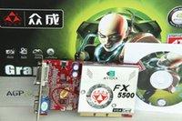 Wholesale Zhongcheng fx5500256mb agp graphics card agp8x4x