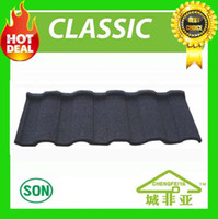 Wholesale china factory high quality stone coated metal roof tile sample execution save more time
