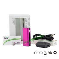 Wholesale Eleaf iStick W Full Pack Kit mAh Battery fit all EGO VS istick mini w w w E Cigarette For Aspire Atomizers