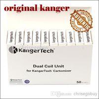 Cheap Original Kanger Dual Coils for Kangertech genitank giant v2 Protank 3 Mini Aerotank Mega turbo EVOD 2 glass topevod pro genitank emow tank