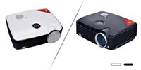 Wholesale PH5 Projector LCD lumens x600 Resolution W LED Mini Projectors for Home Theater KTV DHL free