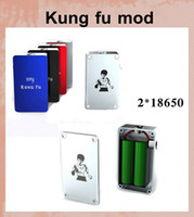 Wholesale New mechanical vape e cigarette mod Kung fu ecig mech mod Smy hottest unregulated kungfu box mod kungfu mech mod Smy watt box mod TZ210