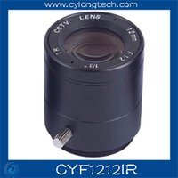 Wholesale cctv lens f1 mm cctv Lens for cctv camera CYF1212IR