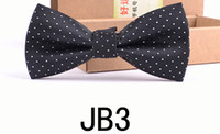 best knitting yarn - Fashion bow Ties new style double deck men s Ties bow tie Business marry the best man the groom Double knot tie