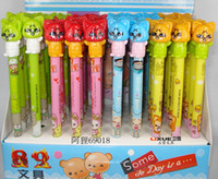 Wholesale BP372 At home student gift hyraxes cartoon graphic patterns mechanical pencil