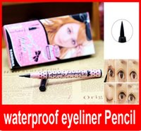 Wholesale 2015 hot YANQINA Black Eyeliner waterproof eyeliner Pencil eyes stereoscopic effect lasting for hours
