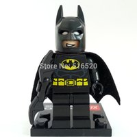 Wholesale 10pcs Batman Minifigures Marvel Frozen Super Heroes The Avengers Building Blocks Sets Model Bricks Toys For Children