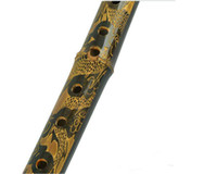 Wholesale 2016 Chinese Bamboo Bawu Flute Vertical Woodwind Bambu Flauta Ethnic Musical Instrument Bau Beginner