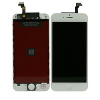 Wholesale 1 PC High Quality for inch iPhone LCD Display Touch Screen Glass Panel Digitizer Assembly Replacement Repair Part Black White