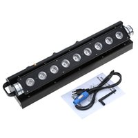 Wholesale Hot W LED DMX512 Disco Light Sound Control Auto Running Channels RGBWY Color Changing PAR Wash Light Stage Lamp