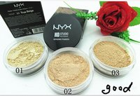 Wholesale 2015 Professional NYX Pressed Silk Powder Foundation Concealer Mineral Water Proof Oil Control Sweat Resist Matte Face Powder