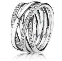 Wholesale 925 Sterling Silver Ring Galaxy Egagement Ring Women Rings Fit for European designer jewelry