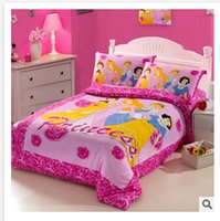 Wholesale 51 styles kids bedding set D Bedding cotton minnie mouse children s baby girl kid cartoon bed sets Spiderman Princess Cars R0A982
