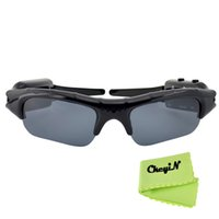 Wholesale New HD P Cam Eyewear Digital Video Recorder Glass Mini Camcorder DV DVR Camera Video Sunglasses SG003H H30 A3