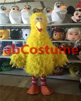 Wholesale Professional New Yellow Big Bird Costume Mascot Sesame Street Mascot Costume Stage Performance Clothing