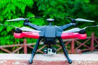 Wholesale RC model quadcopter hero FPV version model includes FPV screen and insert camera