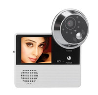 Wholesale For inch photo electronic cat eye visual Peephole viewer visual doorbell