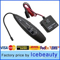 Wholesale Universal Automotive car auto Short circuit Open circuit tracer detector cable wire finder sender receiver Diagnostic tool A2