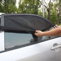 Wholesale Universal Adjustable Car Sun Shades UV Protection Window Shield Mesh Cover Car Sun Visor window foil Sunshade