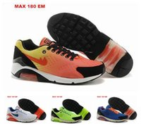 Painting Medium - Free shippping Breathable Sports Best Running Shoes For Men Air Mesh Cushion Paint max EM Side Trailing Sneakers Male shoes size40