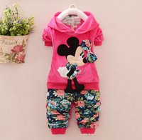 velour tracksuit - baby girl clothing sets piece suit set tracksuits Girl s Kitty sets velvet children s Sport suits hoody jackets pant set