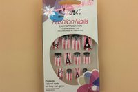 artificial nail art - paris design false nails artificial False Nail Fake Nail Nail Art Tips